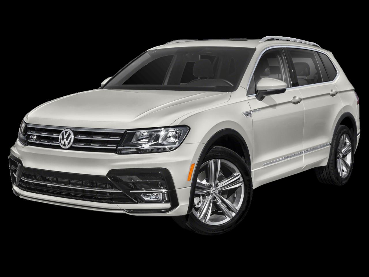New 2019 Volkswagen Tiguan SEL R-Line Black