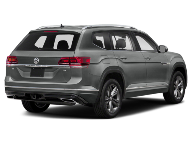 New 2019 Volkswagen Atlas V6 SEL R-Line 4Motion w/Captains Chairs