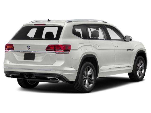 New 2019 VOLKSWAGEN Atlas SE W/TECH & R-LINE PKG W/MOONROOF AND BENCH SEATS