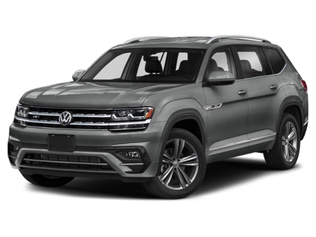 New 2019 Volkswagen Atlas V6 SE W/Tech & R-Line w/ Moonroof and Bench Seats