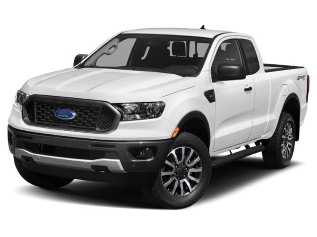 2020 Ford Ranger XLT 4WD SUPERCAB 6' BOX Extended Cab Pickup