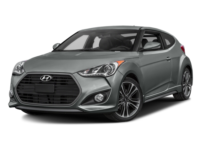 2016 Hyundai Veloster Turbo Base 3dr Coupe DCT w/Orange Accent Interior