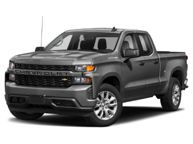 2019 Chevrolet Silverado 1500 Custom 4D Double Cab