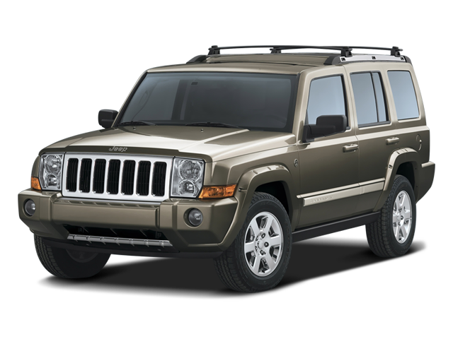 Pre-Owned 2008 Jeep Commander Limited 4WD