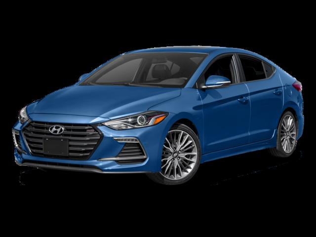 2017 Hyundai Elantra SPORT 6-SPEED 4dr Car
