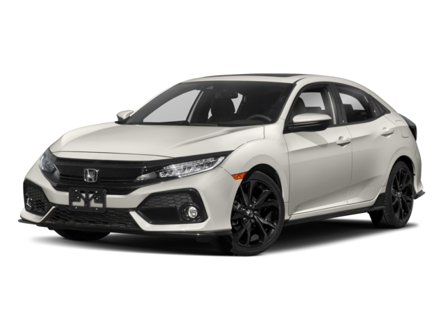 2018 Honda Civic Hatchback Sport Touring Four-Door Sedan
