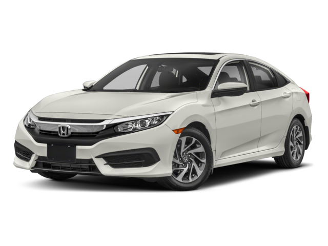 2018 Honda Civic EX 4D Sedan
