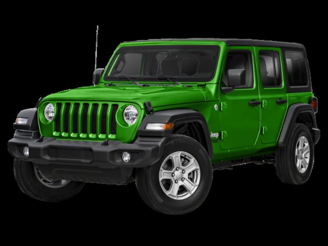 New 2019 Jeep Wrangler Unlimited Sport S 4x4