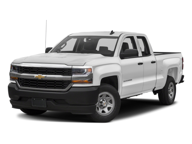 2018 Chevrolet Silverado 1500 Work Truck Double Cab Pickup