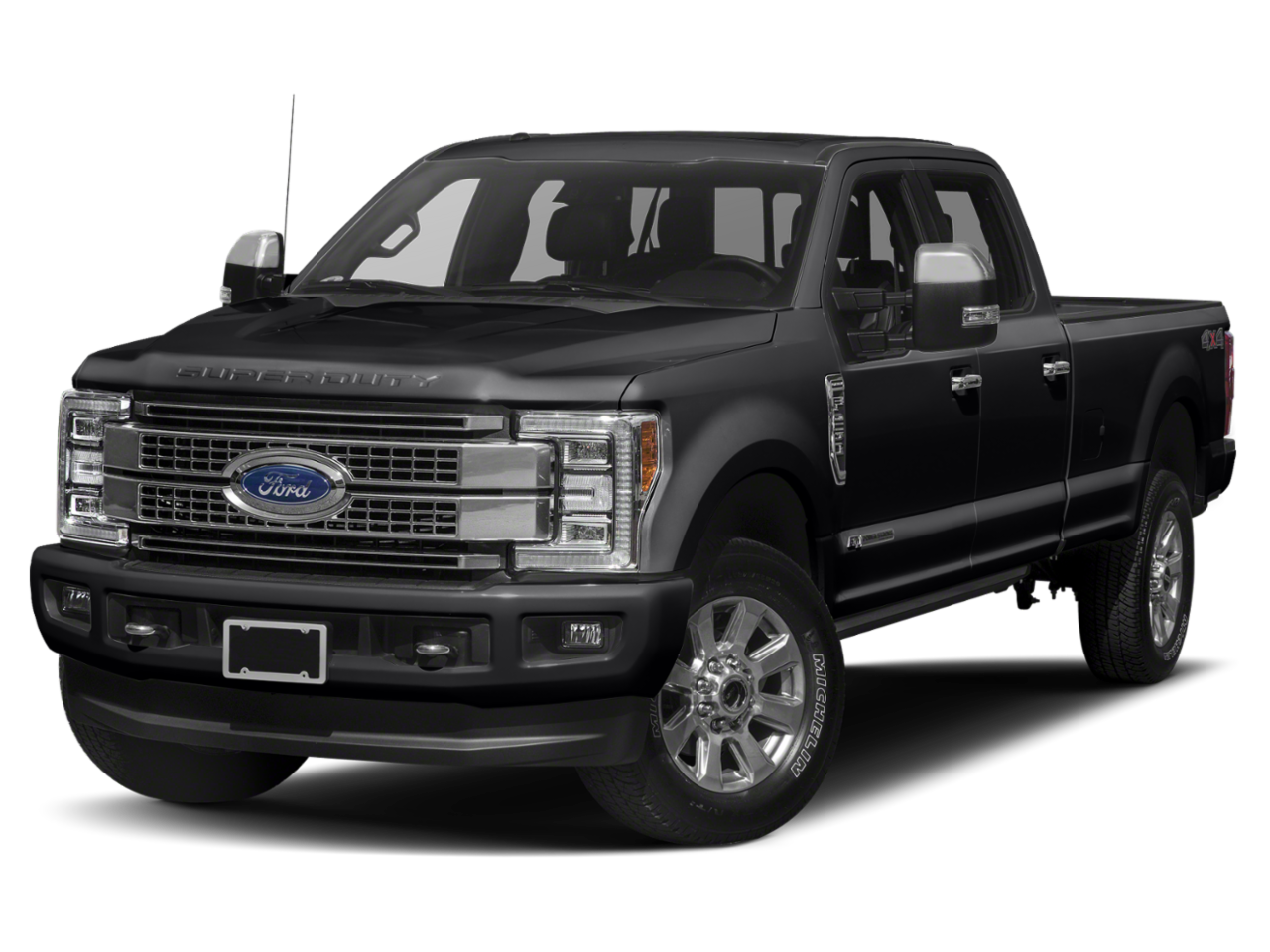 2019 Ford F-250SD Platinum With Navigation & 4WD