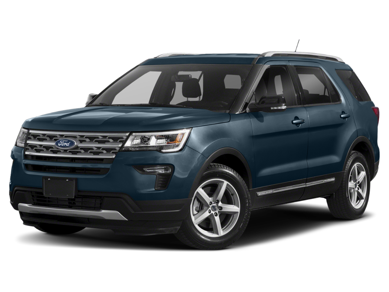 2018 Ford Explorer Sport With Navigation & AWD