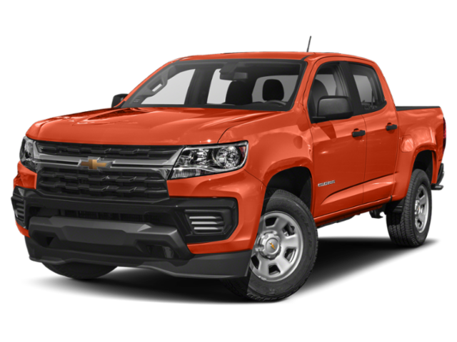2021 Chevrolet Colorado Work Truck 4D Crew Cab