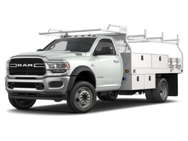 2019 RAM 4500 Chassis Cab 12' PLATFORM BODY WITH STAKES Regular Cab