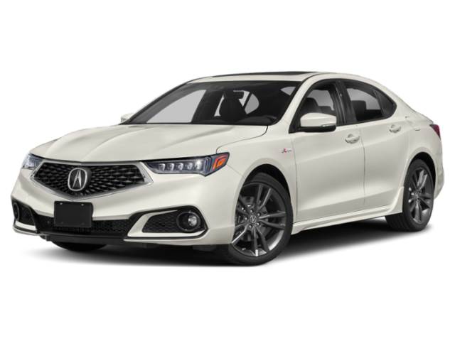 2020 Acura TLX V-6 with A-Spec Package and Red Interior Sedan
