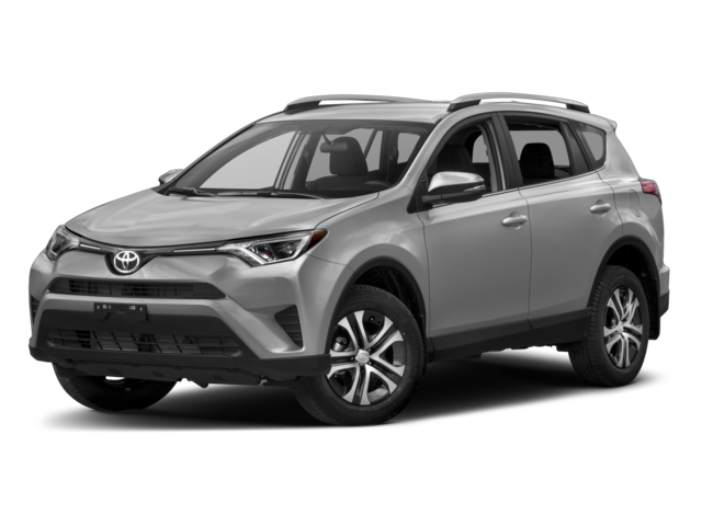 2018 Toyota RAV4 LE w/accessories (see description)