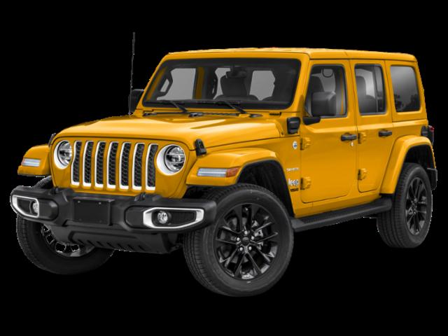 2021 Jeep Wrangler 4xe Unlimited Sahara Convertible