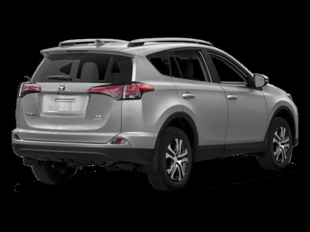 New 2018 Toyota RAV4 LE FWD SUV