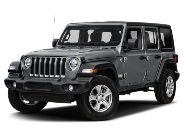 2020 JEEP Wrangler Black and Tan 4x4 Sport Utility