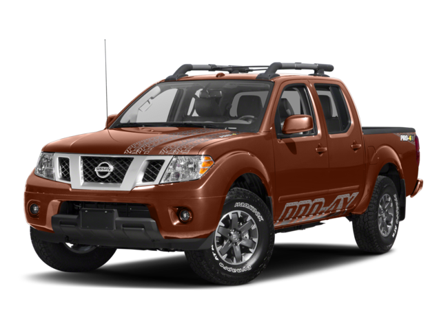 2017 Nissan Frontier PRO-4X 4WD Crew Cab