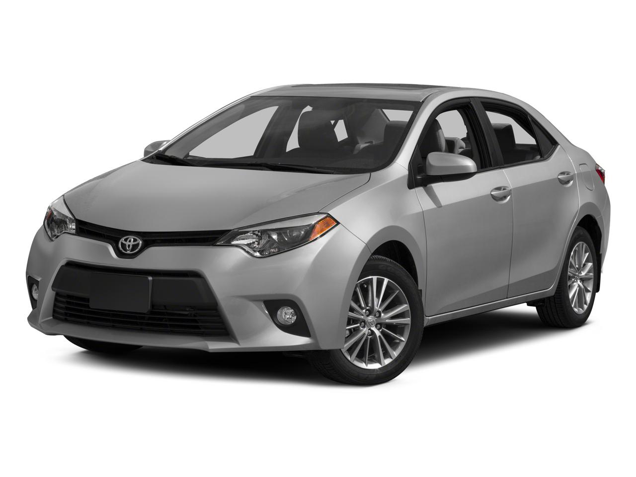2015 Toyota Corolla LE PLUS 4dr Car Slide