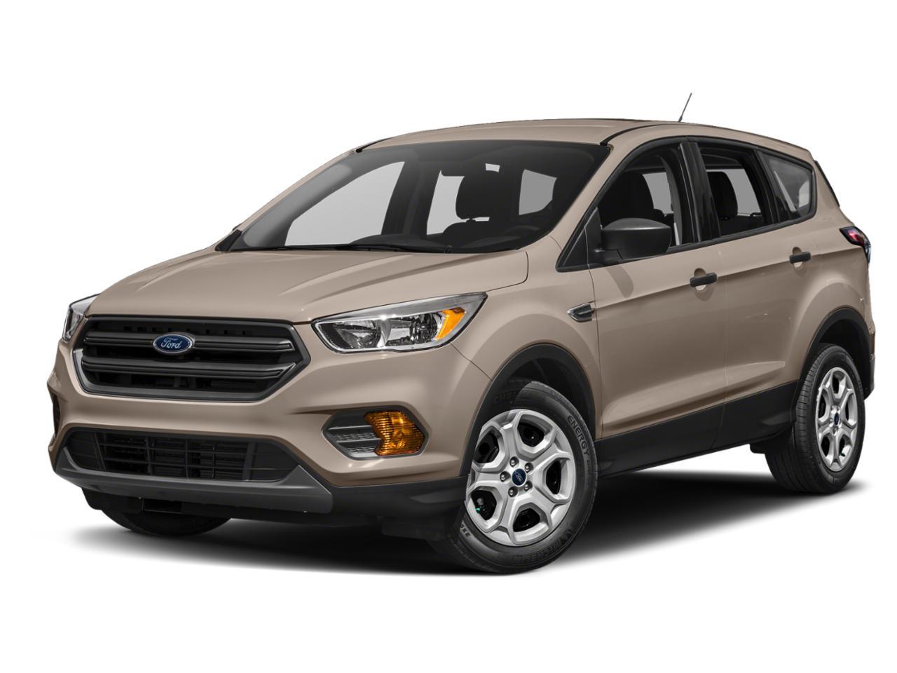 White Gold Metallic 2018 Ford Escape SE SUV Winston-Salem NC