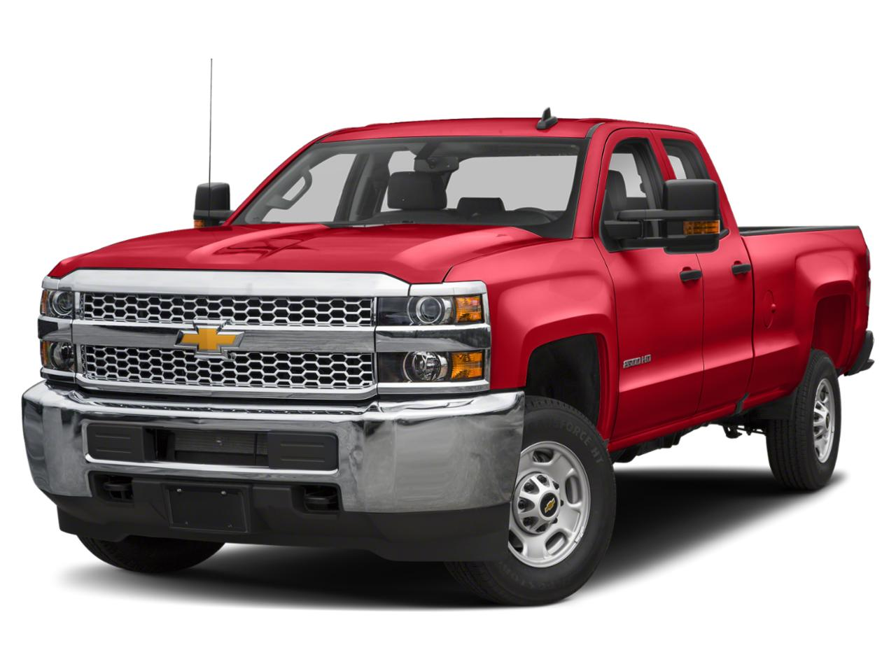 Red 2019 Chevrolet Silverado 2500HD WORK TRUCK Extended Cab Pickup Lexington NC