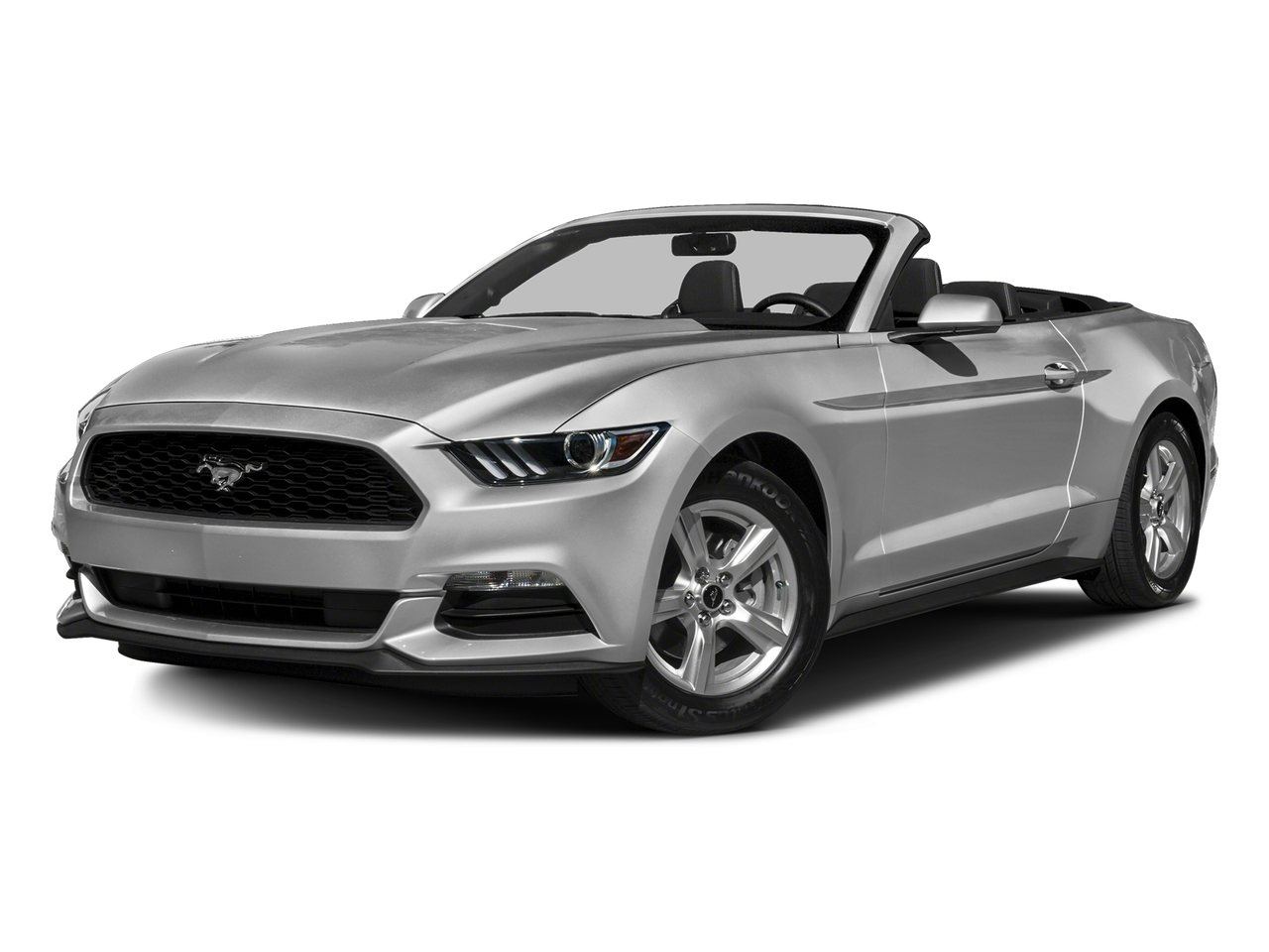 Silver 2016 Ford Mustang V6 V6 2dr Convertible New Bern NC