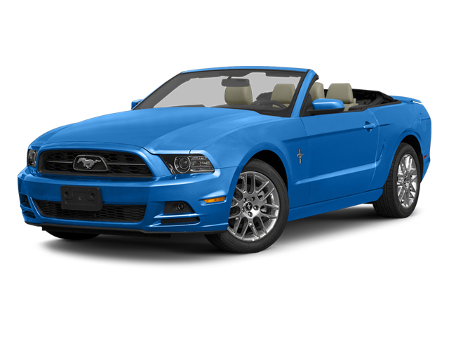 2013 Ford Mustang V6 Convertible Slide