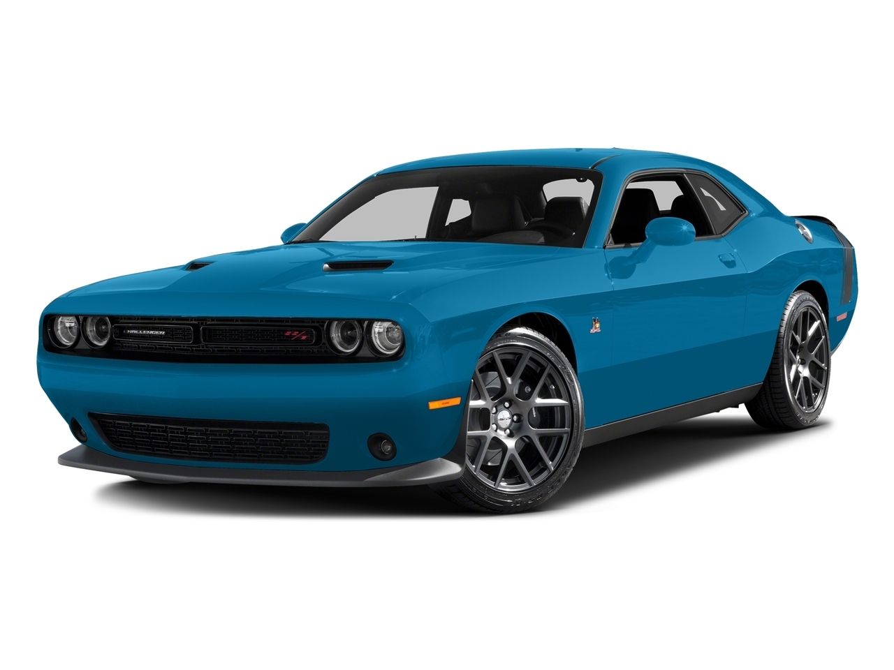 2016 Dodge Challenger R/T SCAT PACK 2dr Car Slide