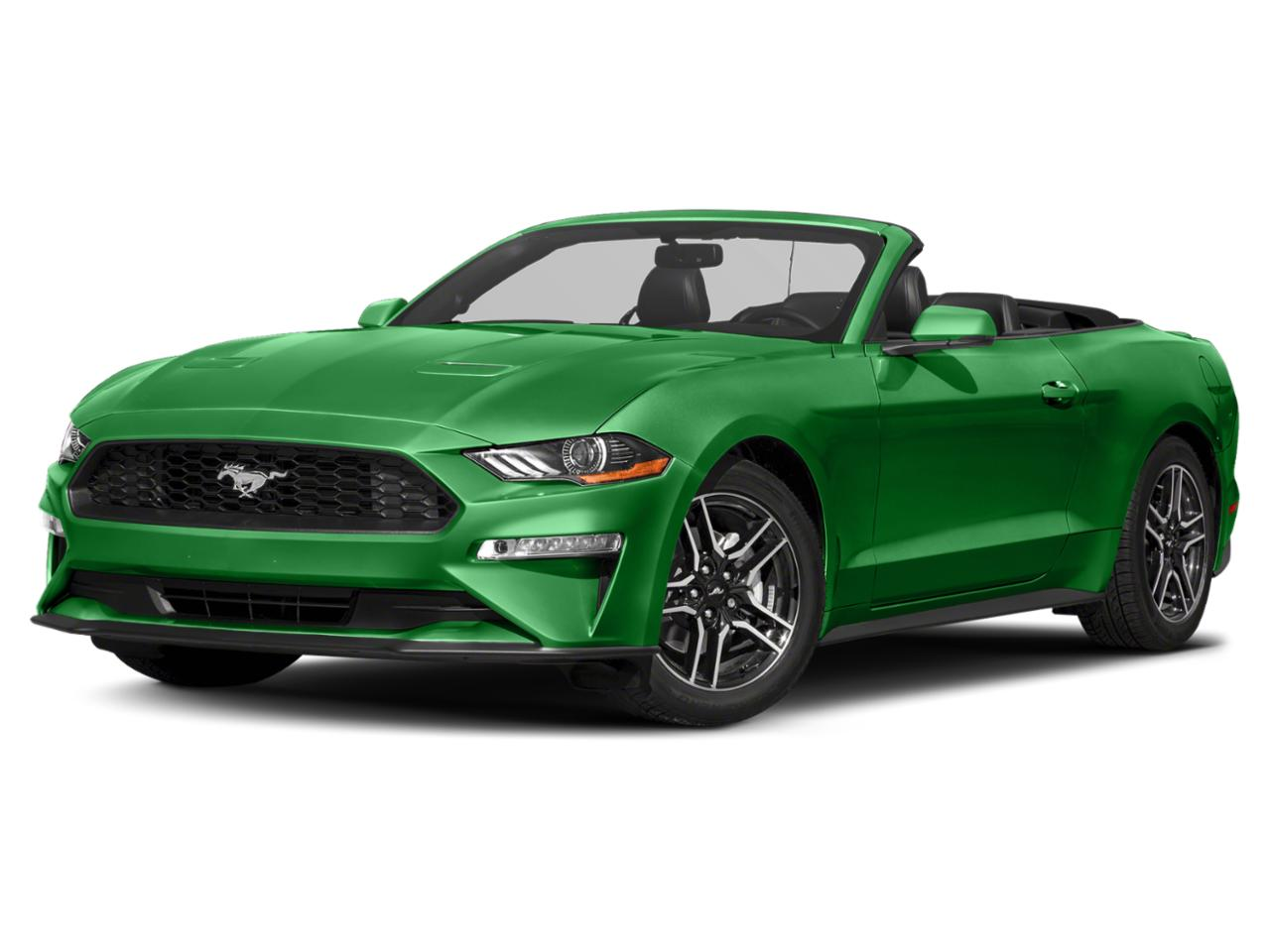 Green 2019 Ford Mustang GT PREMIUM Convertible Raleigh NC
