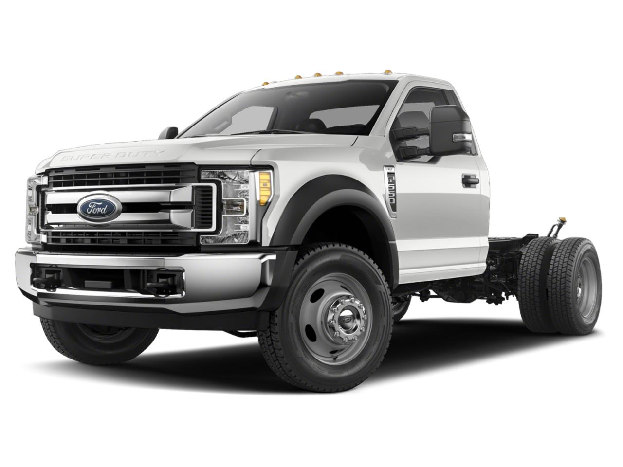 Oxford White 2019 Ford F-550SD 12FT DUMP/NO SIDES Regular Cab Chassis-Cab Rocky Mount NC