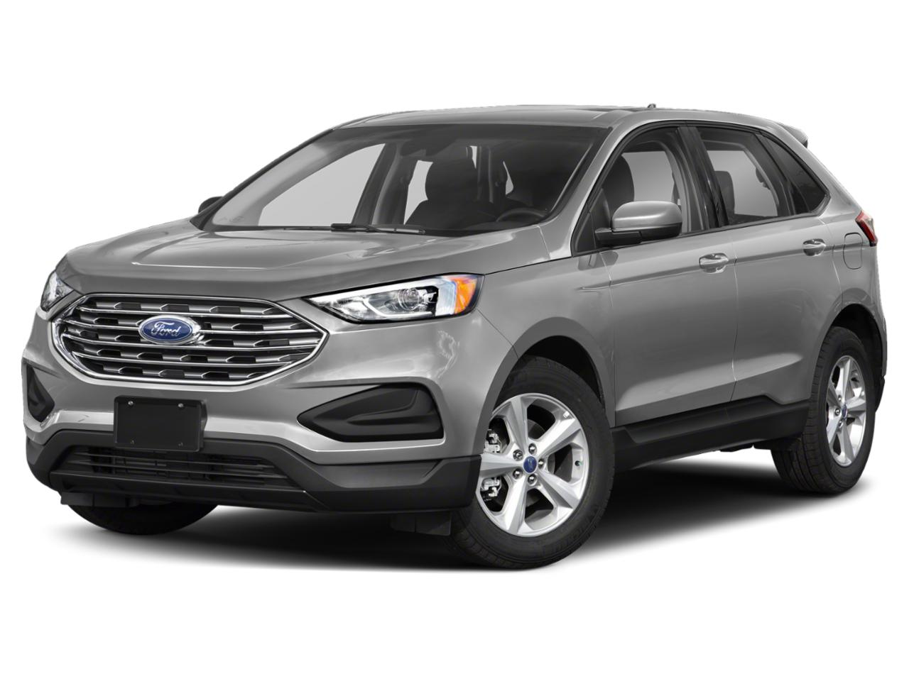 Ingot Silver Metallic 2019 Ford Edge SE SUV Raleigh NC