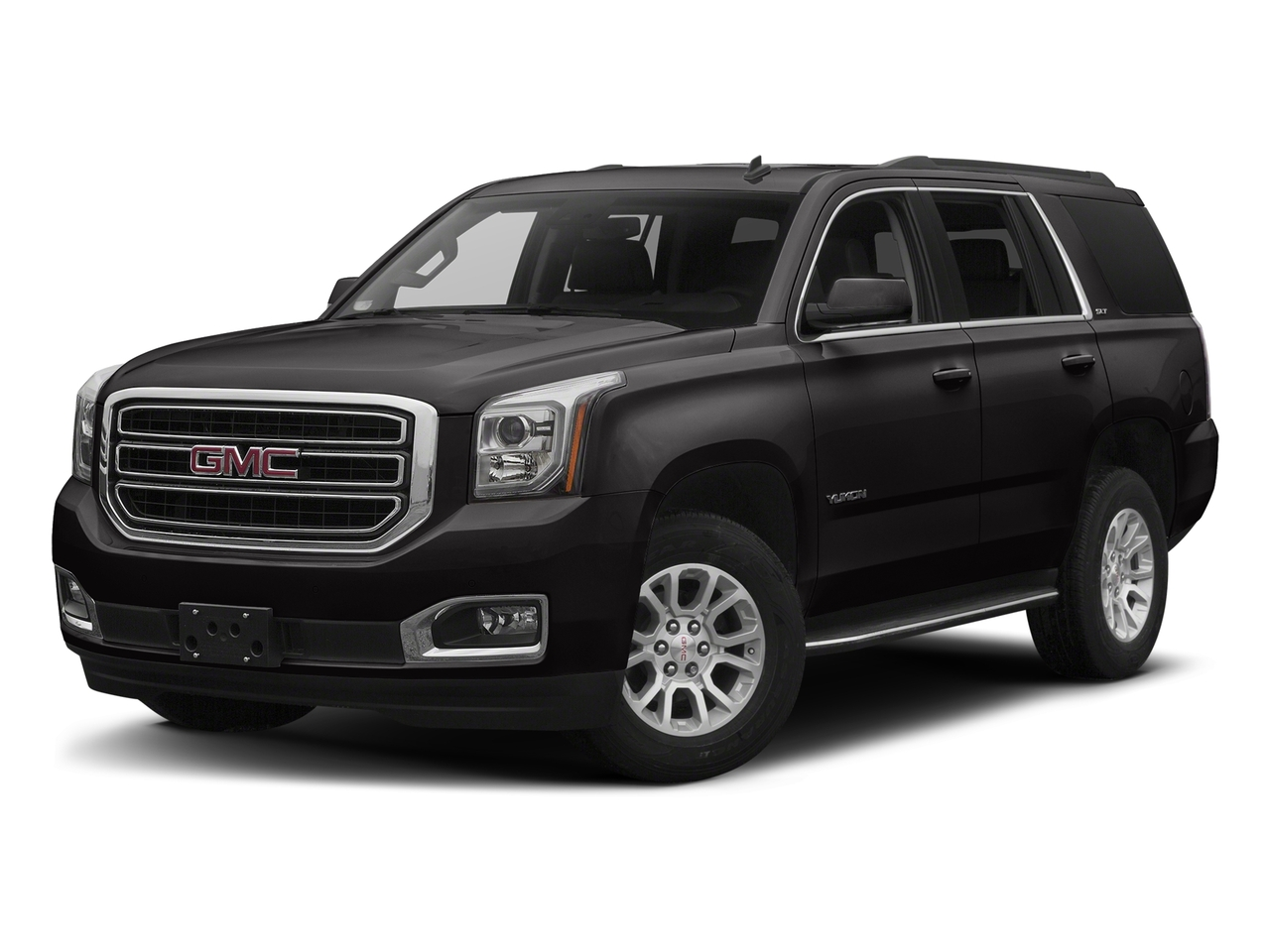 Onyx Black 2017 GMC Yukon SLT SUV Lexington NC