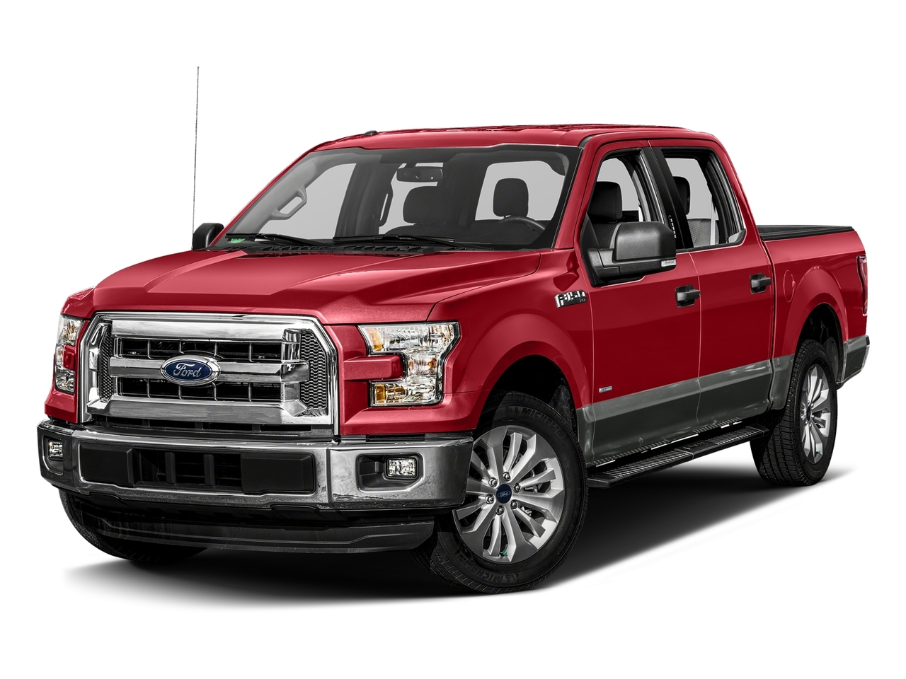 Ruby Red Metallic Tinted Clearcoat 2017 Ford F-150 XLT Crew Cab Pickup Winston-Salem NC