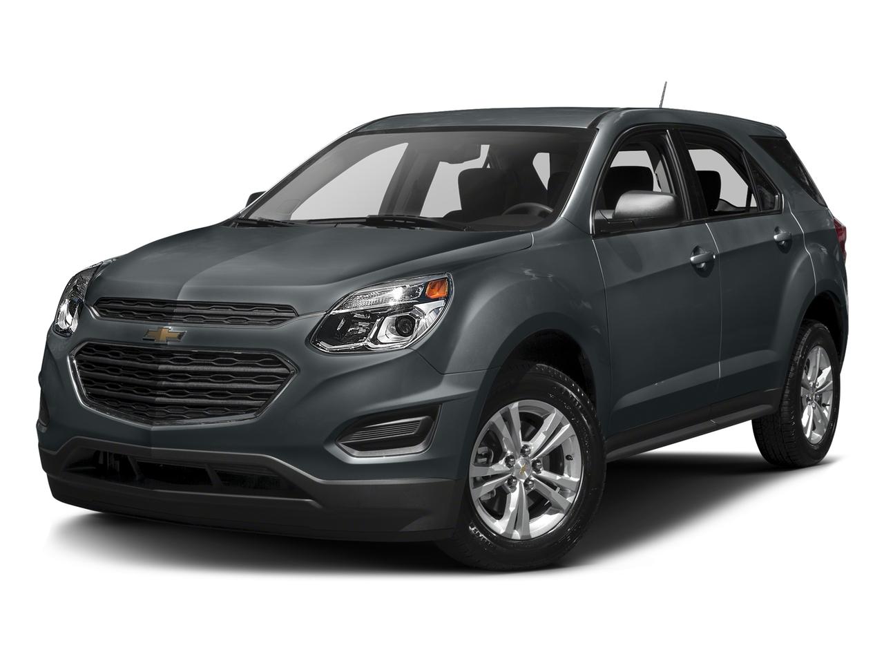 Gray Metallic 2017 Chevrolet Equinox LS SUV Lexington NC