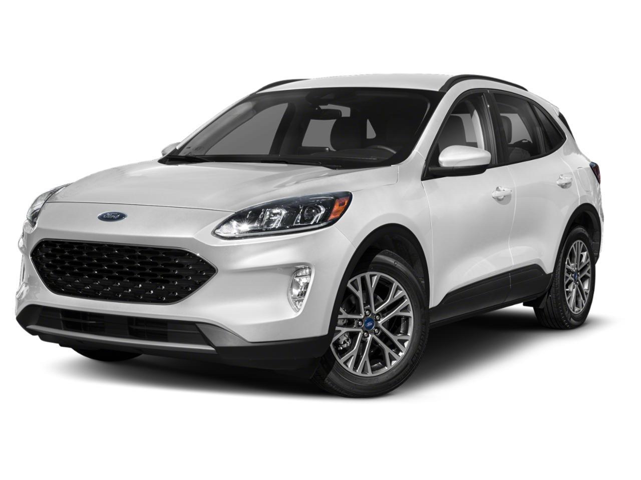 White Metallic 2020 Ford Escape SEL SUV Raleigh NC