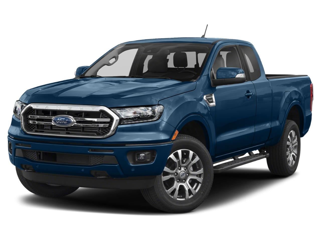 Lightning Blue 2020 Ford Ranger LARIAT 4x4 Lariat 4dr SuperCrew 5.1 ft. SB Pickup New Bern NC