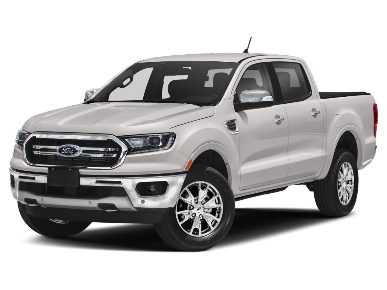White Platinum Tri-Coat 2020 Ford Ranger LARIAT 4x2 Lariat 4dr SuperCrew 5.1 ft. SB Pickup New Bern NC