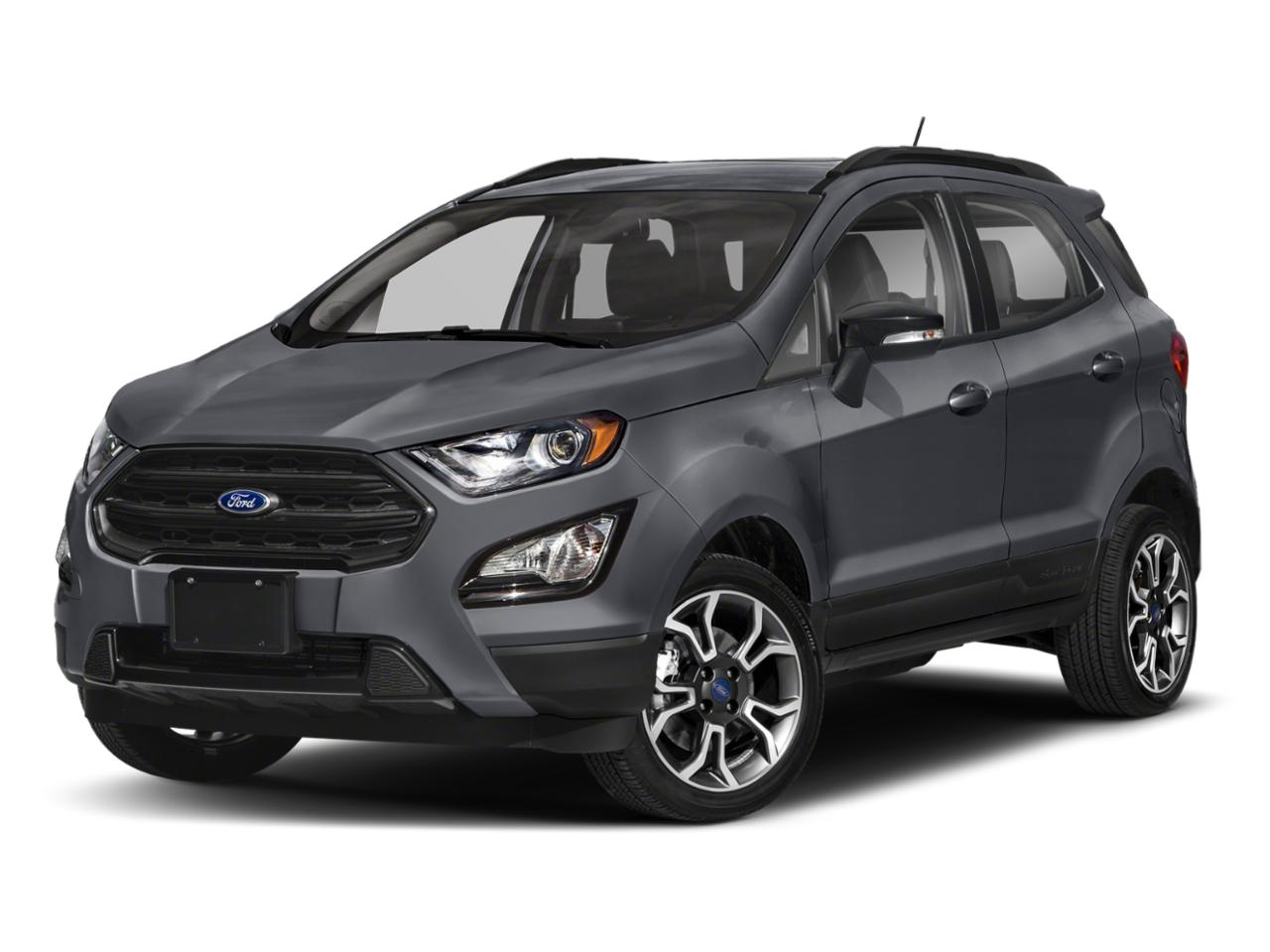 Smoke Metallic 2020 Ford EcoSport TITANIUM Titanium 4dr Crossover New Bern NC