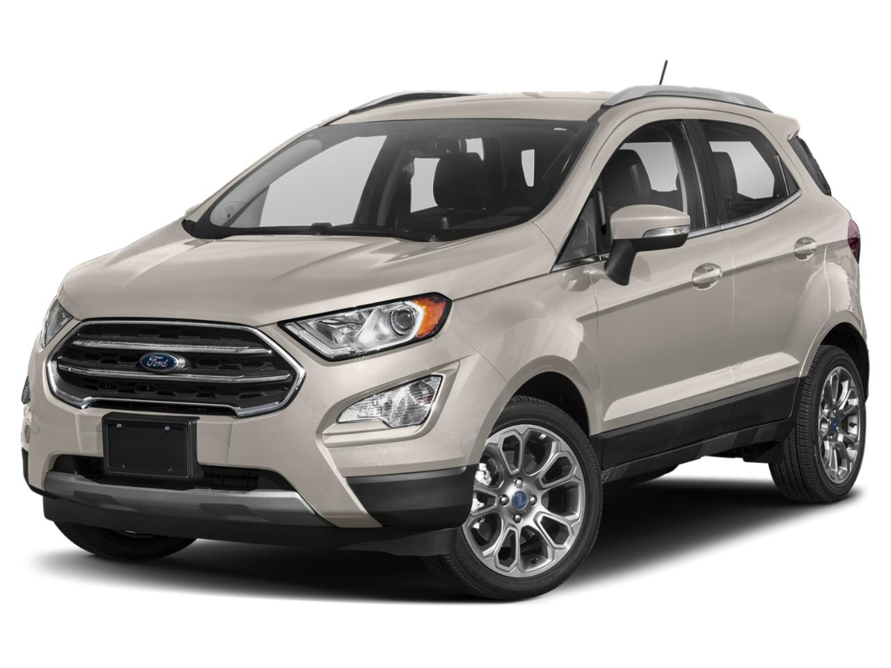 Moondust Silver Metallic 2020 Ford EcoSport SE AWD SE 4dr Crossover New Bern NC