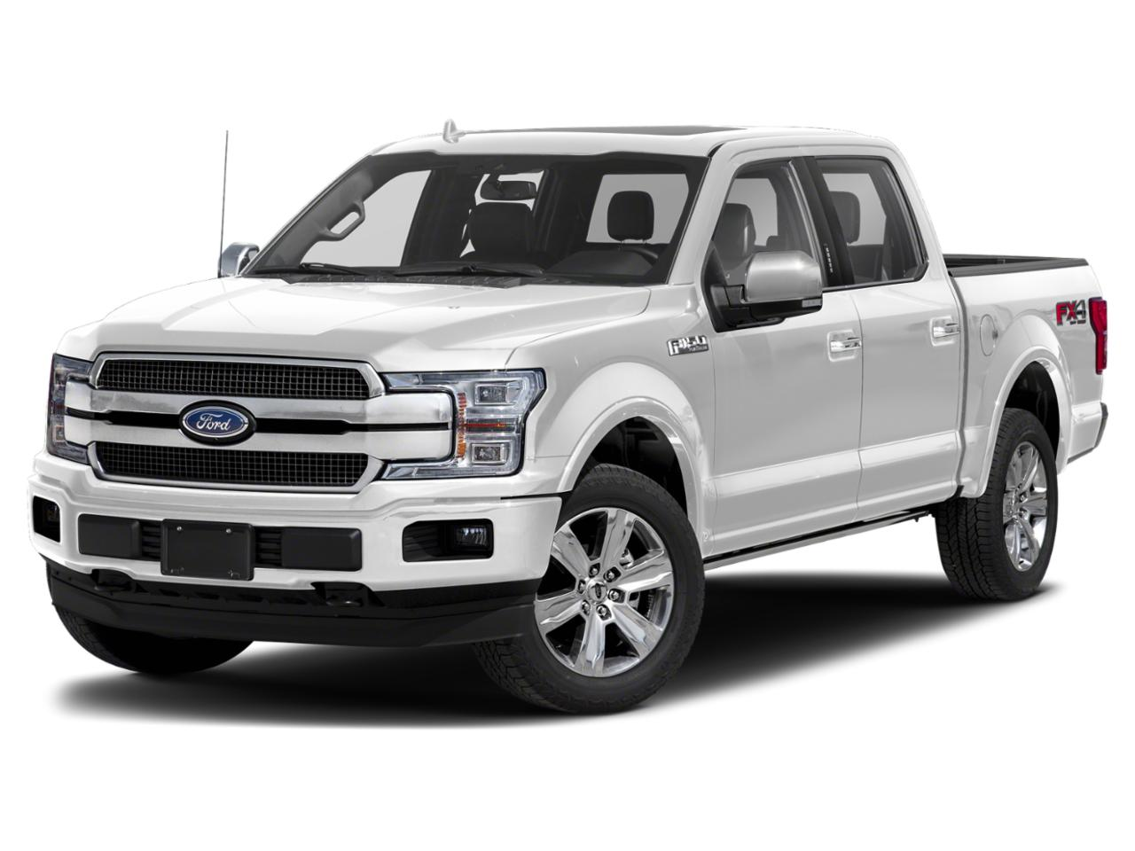 White Metallic 2020 Ford F-150 PLATINUM Crew Cab Pickup Winston-Salem NC