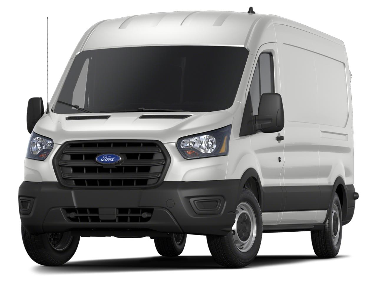Oxford White 2020 Ford Transit-350 HIGH ROOF CARGO VAN Van Durham NC