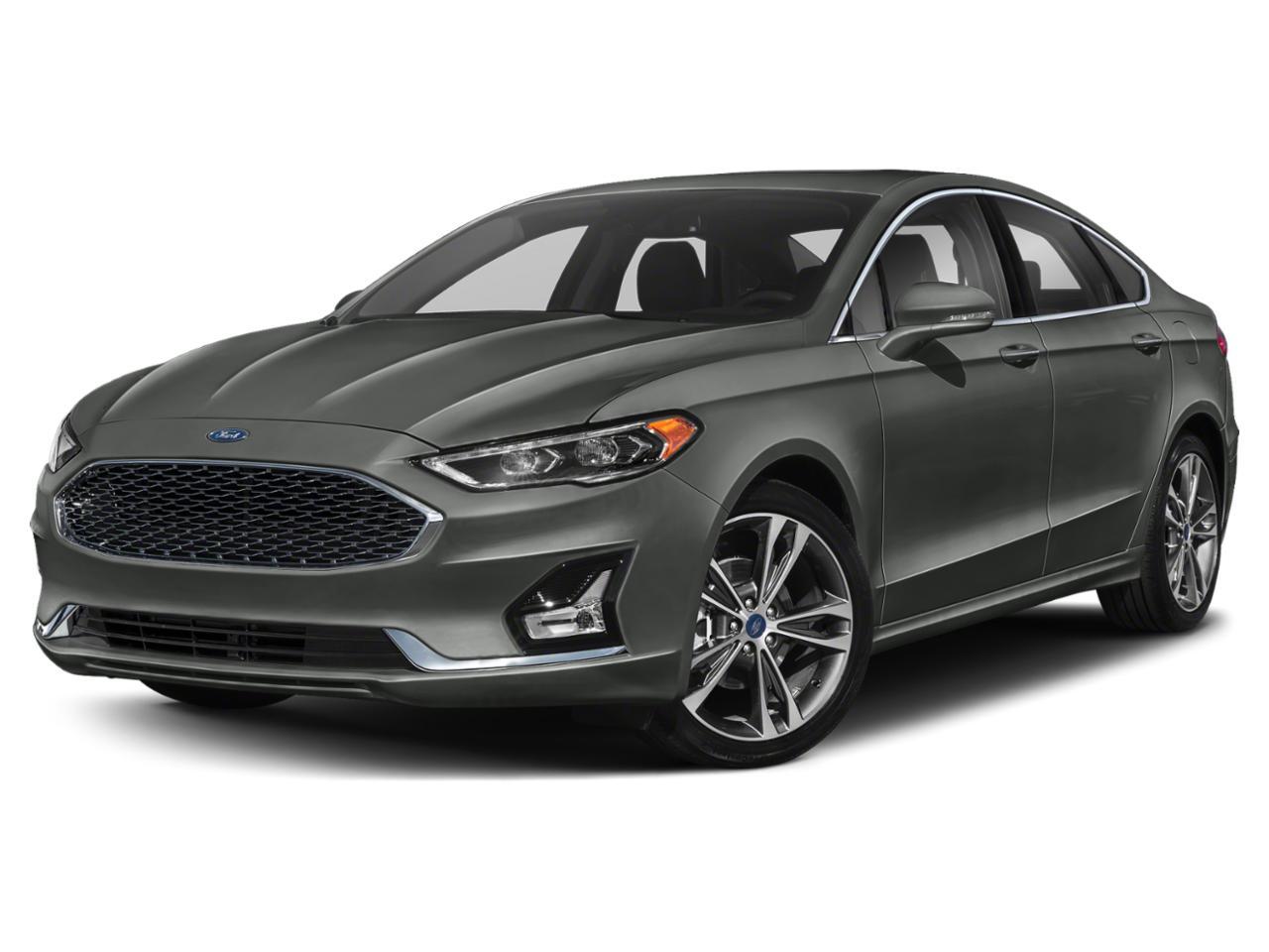 Magnetic Metallic 2020 Ford Fusion TITANIUM Titanium 4dr Sedan New Bern NC