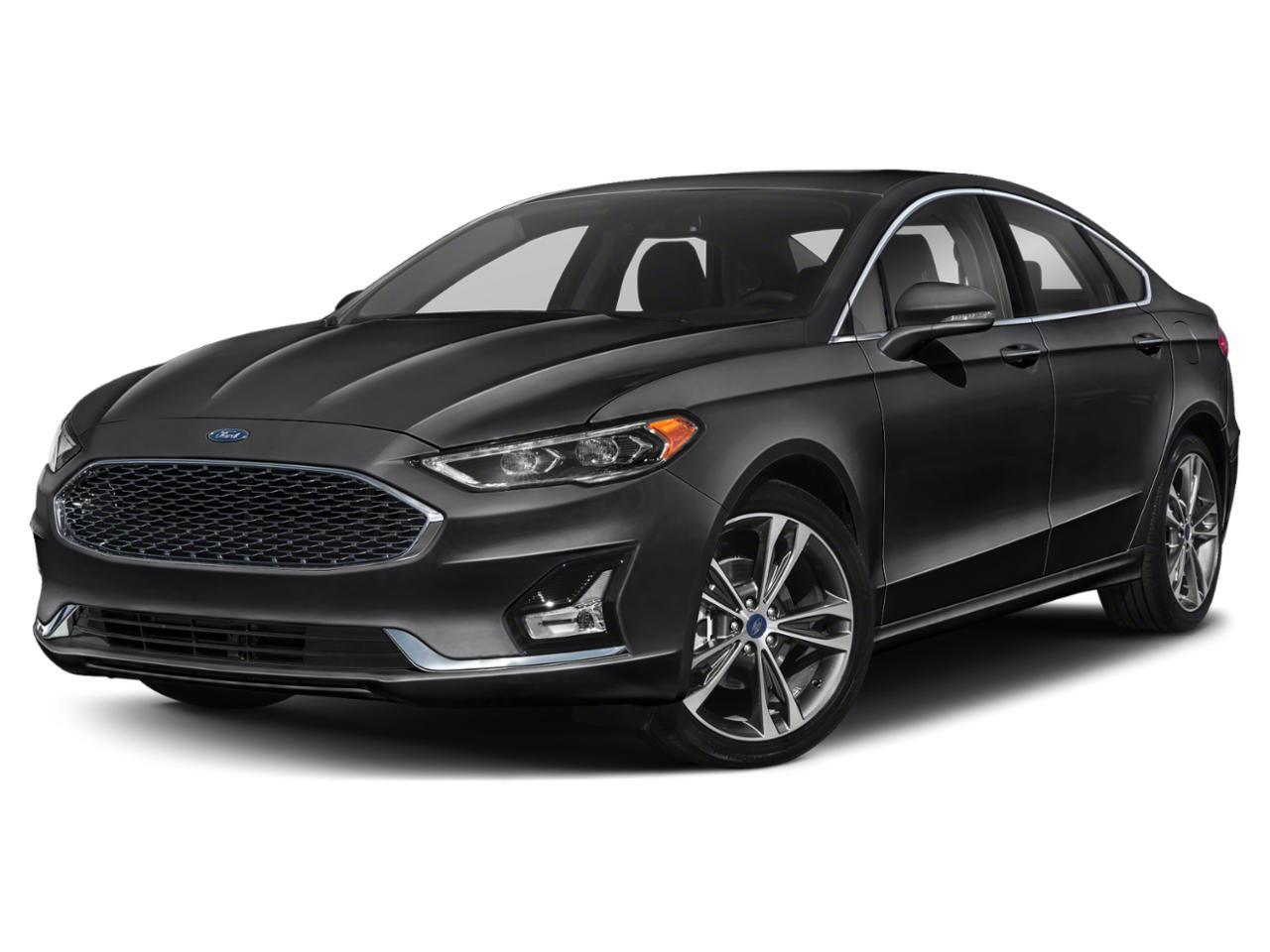 Blue Metallic 2020 Ford Fusion TITANIUM Titanium 4dr Sedan New Bern NC