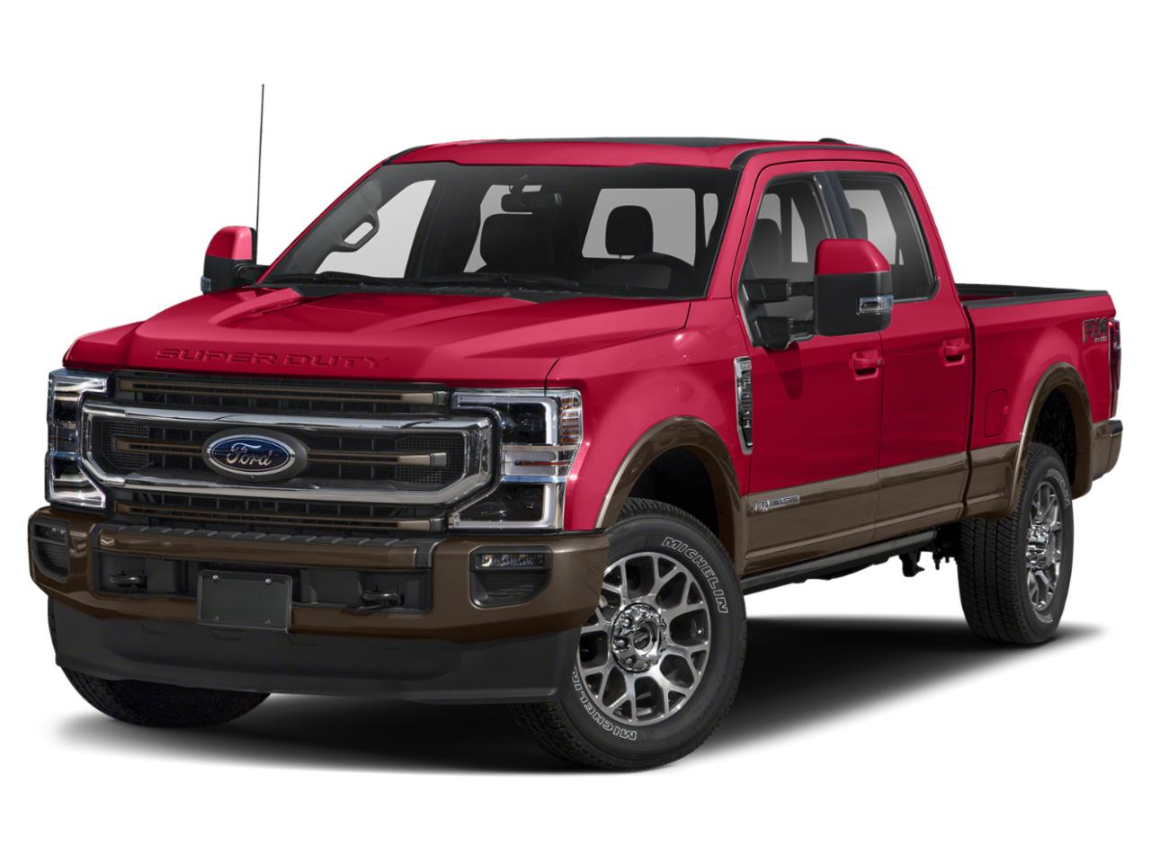 Red Metallic 2020 Ford F-350SD KING RANCH Crew Cab Pickup Mooresville NC
