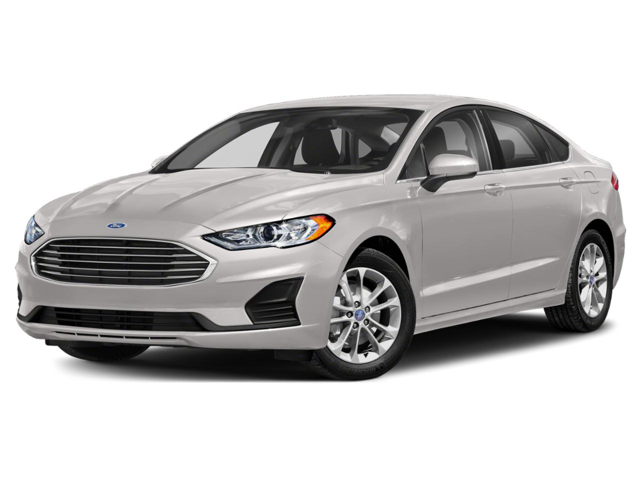 White 2020 Ford Fusion SE 4dr Car Raleigh NC