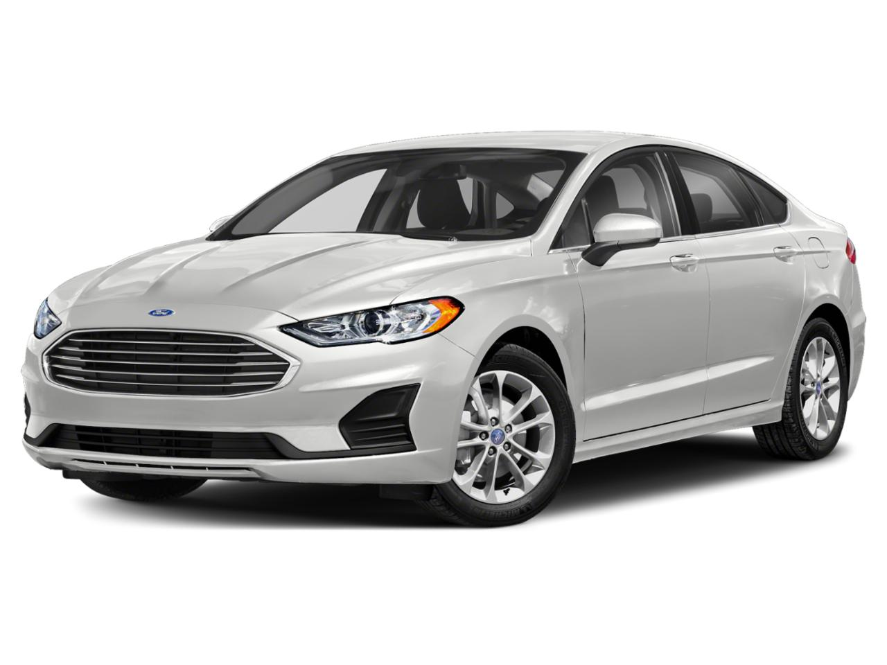 Oxford White 2020 Ford Fusion SE 4dr Car Raleigh NC