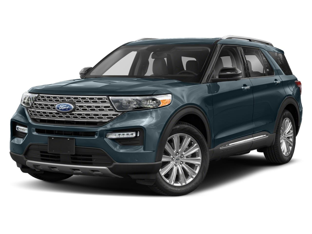 Blue Metallic 2020 Ford Explorer XLT SUV Raleigh NC