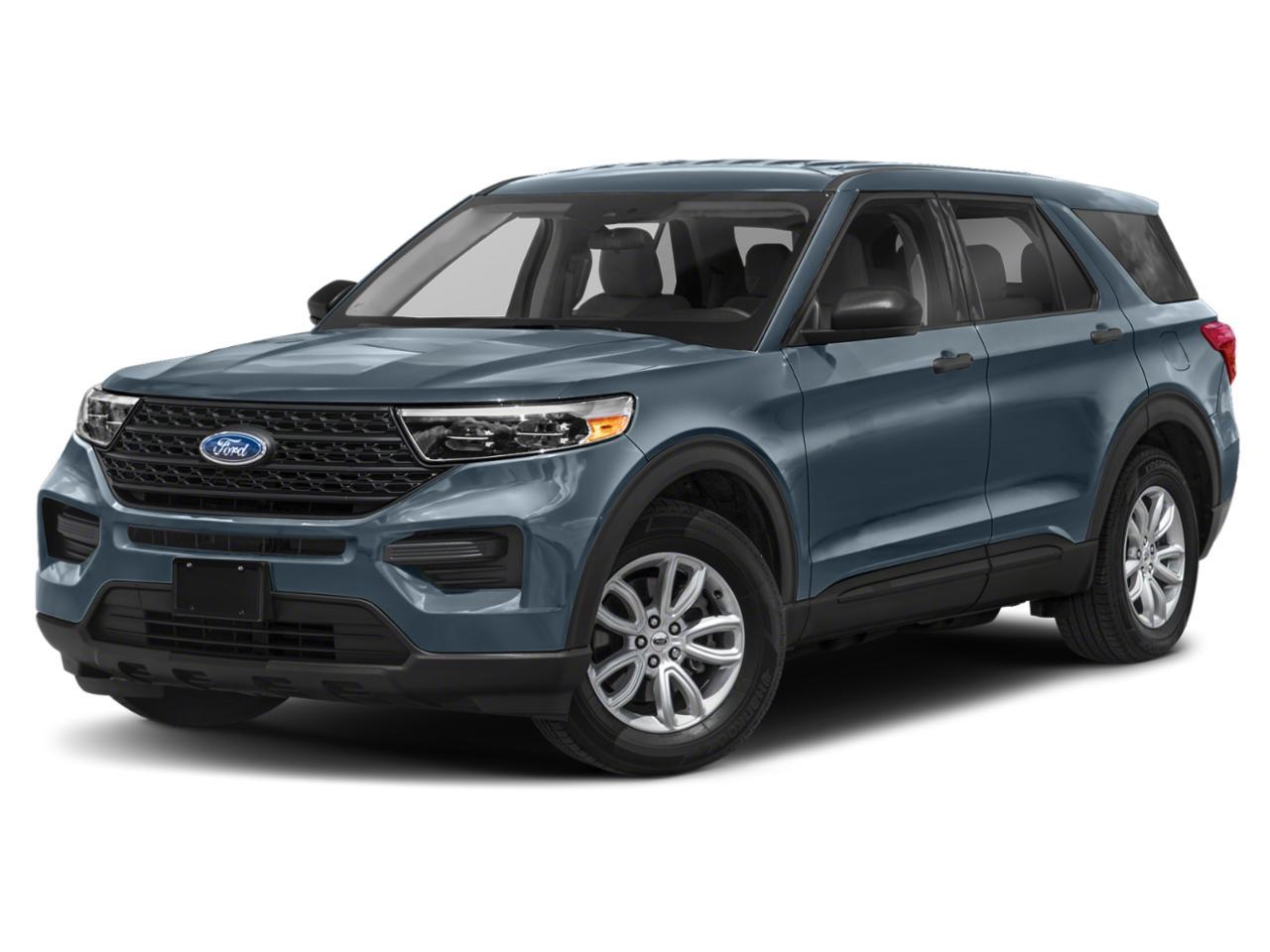 Blue Metallic 2020 Ford Explorer XLT SUV Mooresville NC