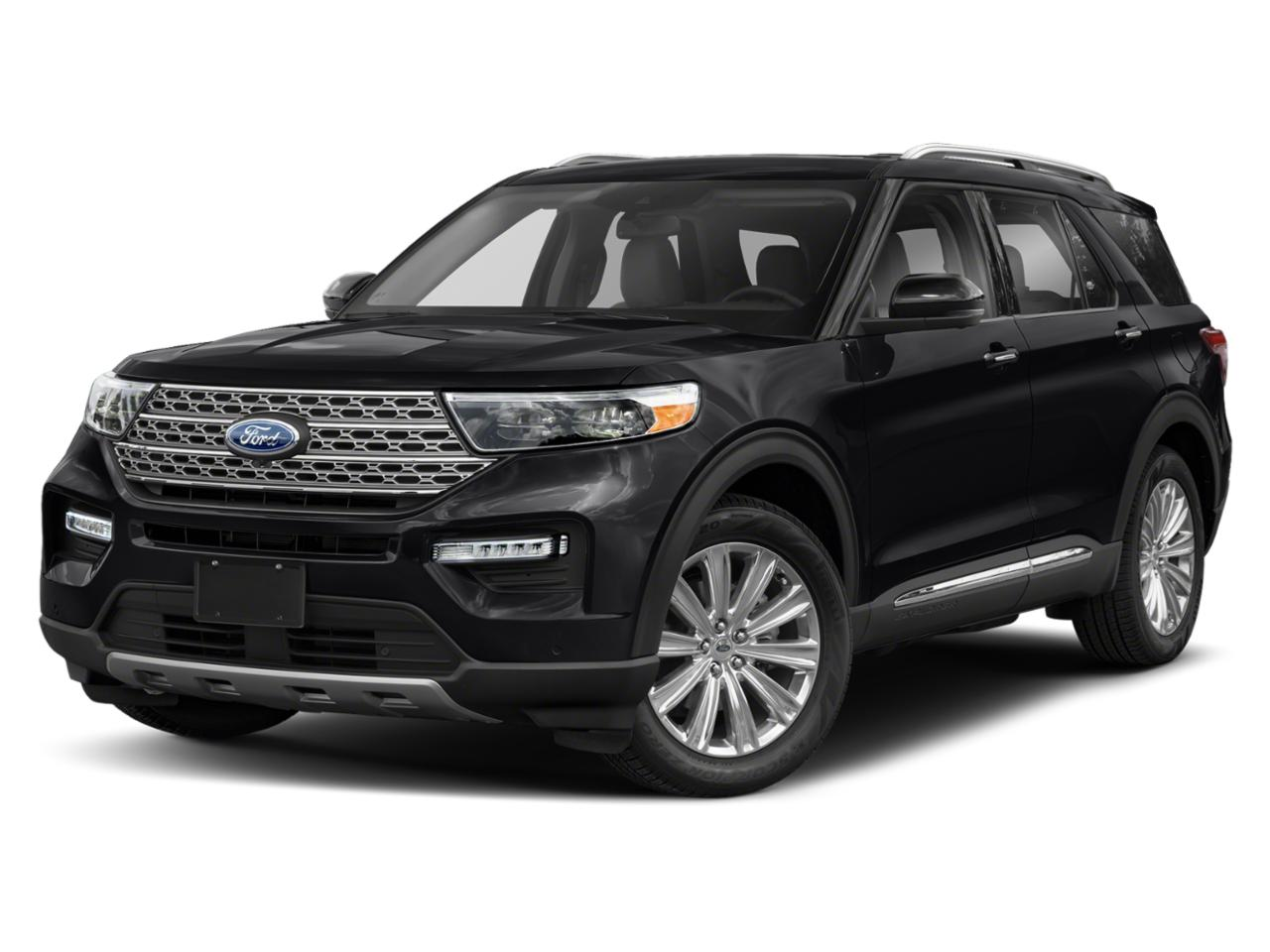 Black Metallic 2020 Ford Explorer XLT SUV Raleigh NC